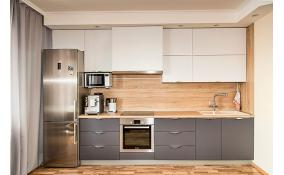 Прямой кухонный гарнитур