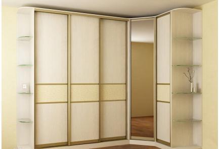 Угловой шкаф У022
