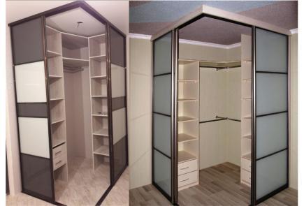 Угловой шкаф У026