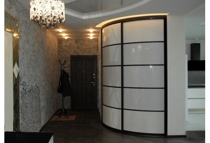 Радиусный шкаф-купе Р10